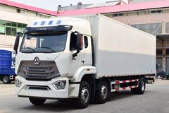中国重汽 豪瀚N5G重卡 280马力 6X2 9.73米厢式载货车(ZZ5255XXYM56C3E1)