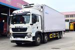 中国重汽 HOWO T5G 340马力 8X4 9.42米冷藏车(ZZ5317XLCN466GE1B)