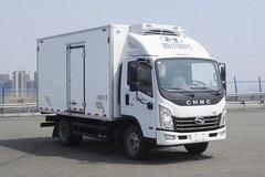 四川现代 致道500M 156马力 4X2 4.165米冷藏车(CNJ5042XLCQDA33V)