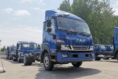 江淮 骏铃V8 170马力 4.18米单排仓栅式轻卡(HFC5043CCYP91K9C2V)
