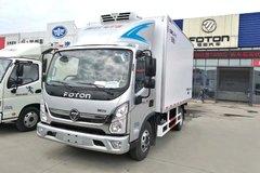 福田奥铃CTS 143马力 4X2 4.085米单排冷藏车(六安5挡)(BJ5048XLC-FA)