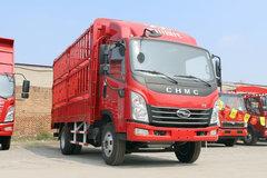 四川现代 致道300M 141马力 3.85米排半仓栅式轻卡(CNJ5041CCYZDB33V) 卡车图片
