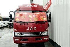 江淮 骏铃V8 绿通王 170马力 4.18米单排栏板轻卡(HFC1043P91K1C2V-S) 卡车图片