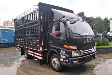江淮 骏铃V6 130马力 4.18米单排仓栅式轻卡(HFC5043CCYP91K5C2V)
