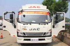 江淮 骏铃V8 154马力 4.13米单排栏板轻卡(HFC1043P91K1C2V-S) 卡车图片