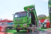 一汽解放 J6P重卡 420马力 6X4 5.6米 LNG自卸车(国六)(CA3250P66M25LT1E6)