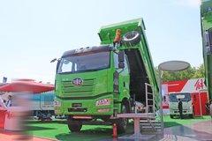 一汽解放 J6P重卡 420马力 6X4 5.6米LNG渣土自卸车(国六)(CA3250P66M25LT1E6)
