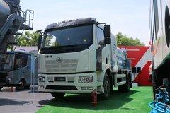 一汽解放 J6L 4X2厨余垃圾车(海德牌)