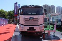解放 新J6P 440马力 8X4 LNG混凝土搅拌车(中集凌宇)(国六)(CA5310GJBP66M25L1T4E6)