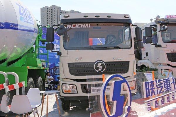 陕汽重卡 德龙L3000 4X2 8.84米纯电动压缩式垃圾车(SX5187ZYSLF451BEV)218.5kWh