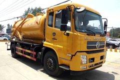 湖北程力 180马力 4X2 清洗吸污车(东风天锦底盘)(CLW5165GQWD5)