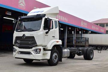 中国重汽 豪瀚N5G中卡 210马力 4X2 7.75米厢式载货车底盘(ZZ5185XXYK5613E1)