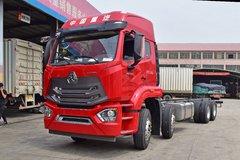 中国重汽 豪瀚N5G重卡 340马力 8X4 9.5米栏板载货车底盘(ZZ1315N4663E1) 卡车图片