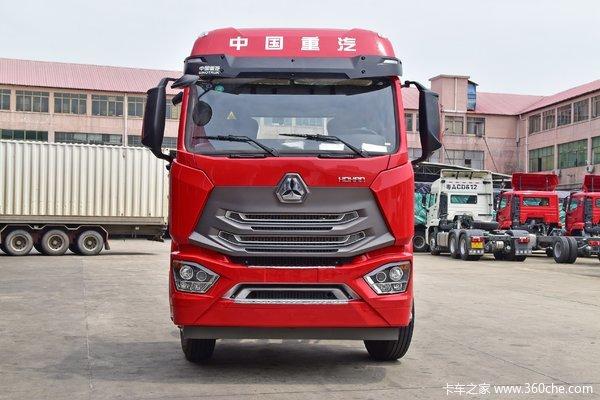 降价促销重汽豪瀚N5G载货车仅售17.50万