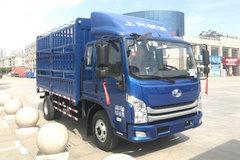 跃进 超越C500-33 140马力 3.74米排半仓栅式轻卡(SH5042CCYKFDCWZ) 卡车图片