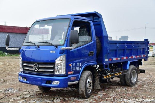 凯马 GK6福来卡 110马力 3.2米自卸车