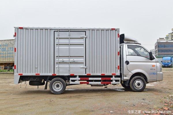 凯马 锐航X1 1.5L 110马力 3.93米单排厢式微卡(KMC5033XXYHQ32D5)