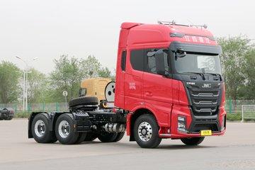 江铃重汽 威龙HV5重卡 普货版 460马力 6X4 LNG牵引车(国六)(SXQ4250J4B4N6)