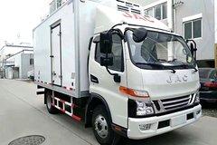 江淮 骏铃V6 156马力 4X2 4.03米单排冷藏车(HFC5043XLCP91K1C2V)
