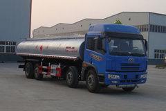 解放 悍威(J5M) 240马力 8X2 化工液体运输车(神狐牌)(HLQ5240GHYC)