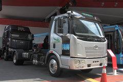 一汽解放 J6L中卡 140马力 4X2 4.5米混合动力商用车底盘(CA1123P9N1) 卡车图片