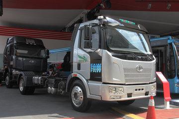 一汽解放 J6L中卡 140马力 4X2 4.5米混合动力商用车底盘(CA1123P9N1)