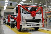 陕汽轻卡 德龙K3000 130马力 4.15米单排厢车轻卡(国六)