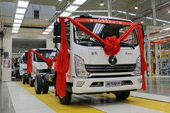 陕汽轻卡 德龙K3000 160马力 3.85米排半厢车轻卡(YTQ5040XXYKK331) 卡车图片