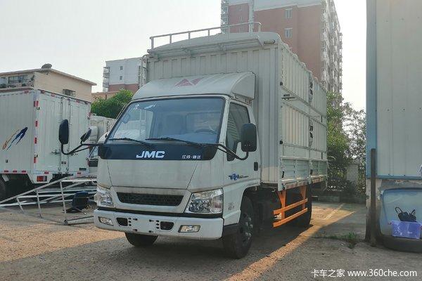 优惠0.5万湛江江铃顺达窄体载货车促销
