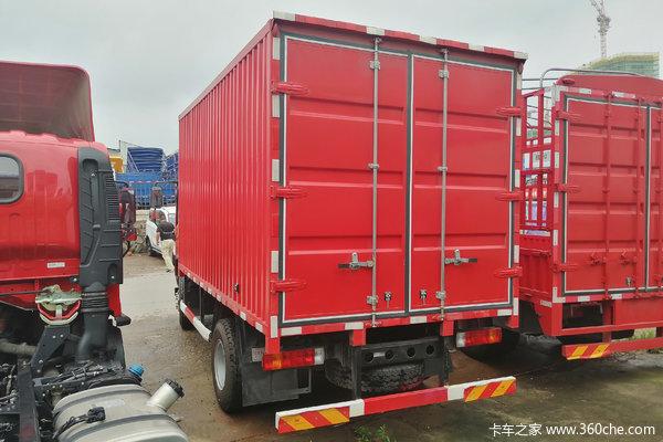 解放 虎VH 140马力 4.21米单排厢式轻卡(CA5049XXYP40K2L1E5A84)