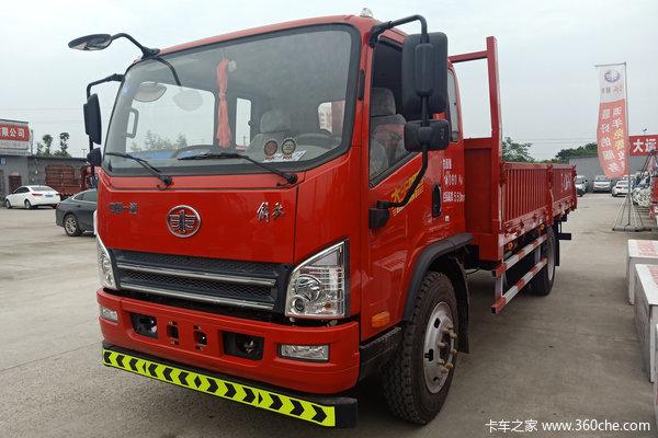 解放 虎VH 大王版 160马力 5.4米排半栏板载货车