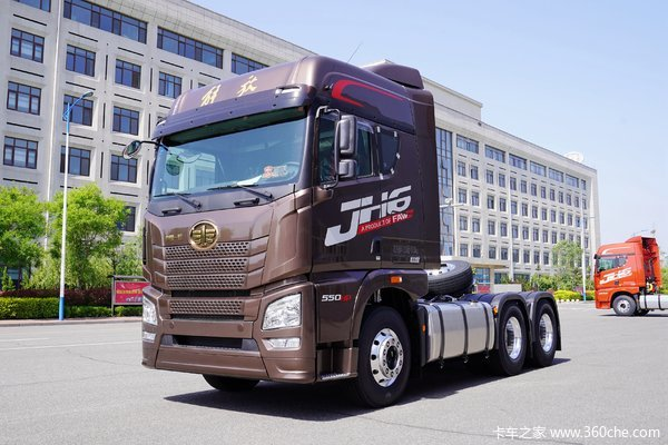 青岛解放 JH6重卡 四季款 智尊版 550马力 6X4牵引车