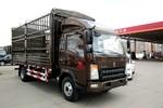 中国重汽HOWO 悍将 156马力 3.85米排半仓栅式轻卡