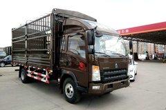 中国重汽HOWO 悍将 156马力 3.85米排半仓栅式轻卡(ZZ5047CCYG3315E143) 卡车图片