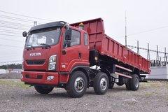 跃进 开拓T700 160马力 6X2 6.7米自卸车(SH3252VGDDWW4) 卡车图片