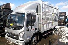 福田 奥铃捷运 156马力 4.18米单排仓栅式轻卡(BJ5048CCY-A1) 卡车图片