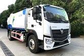 福田 欧马可S5系 210马力 4X2 压缩式垃圾车(三力牌)(CGJ5183ZYSE5)