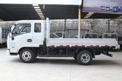 跃进 上骏X100-28 102马力 3.22米排半栏板轻卡(SH1042KBDBNZ) 卡车图片