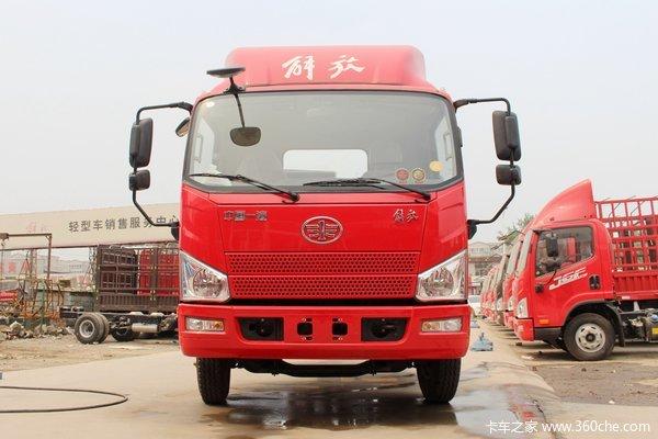 解放 J6F 130马力 4.16米单排仓栅式轻卡(宽体)(国六)