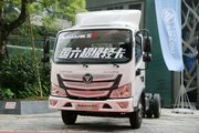 福田 欧马可S3系 131马力 4.14米单排厢式轻卡(国六)(BJ5045XXY-FK)