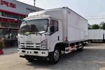 庆铃 五十铃700P 190马力 6.672米单排厢式载货车(QL5100XXYA8PHJ)图片