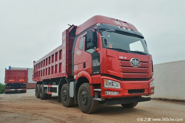 解放J6P自卸车火热促销中 让利高达5万
