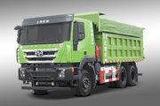 上汽红岩 杰狮C6 380马力 6X4 5.4米LNG自卸车(国六)(485后桥)(CQ5257ZLJHD10384T)