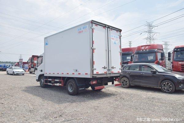 欧马可S3冷藏车限时促销中 优惠0.2万