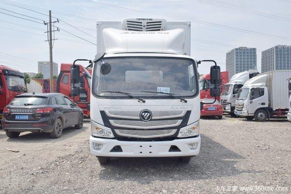 福田 欧马可S3系 156马力 4X2 5.1米冷藏车