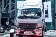 福田 欧马可S5系 超级卡车 220马力 7.8米排半厢式载货车(国六)(BJ5186XXY-1A)