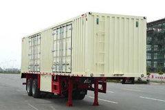 中集华骏 10.16米厢式运输半挂车(额载25吨)