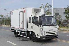 江铃 凯运升级版 宽体 116马力 4X2 3.625米排半冷藏车(JMT5045XLCXPG2)