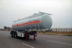中集华骏 24方易燃液体罐式运输半挂车