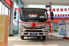 福田 奥铃速运 110马力 4.18米单排栏板轻卡(BJ1045V9JD6-F2) 卡车图片